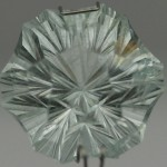 8.5 CARAT, 13MM HEXAGON STAR, COMBINATION CUT, Natural New Hampshire  aquamarine